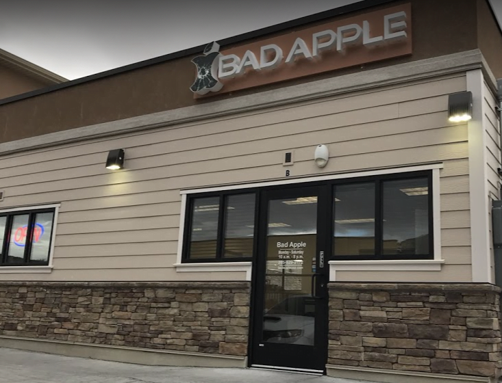 Draper, Utah Bad Apple location building. Come in for iPhone, iPad, and Samsung repair.