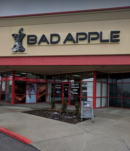 Orem, Utah Bad Apple location building. Come in for iPhone, iPad, and Samsung repair.