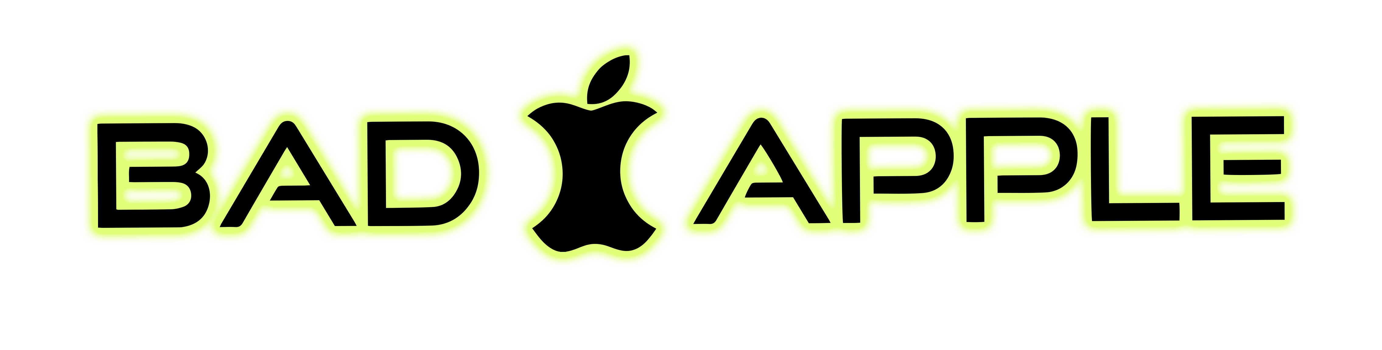 bad apple logo
