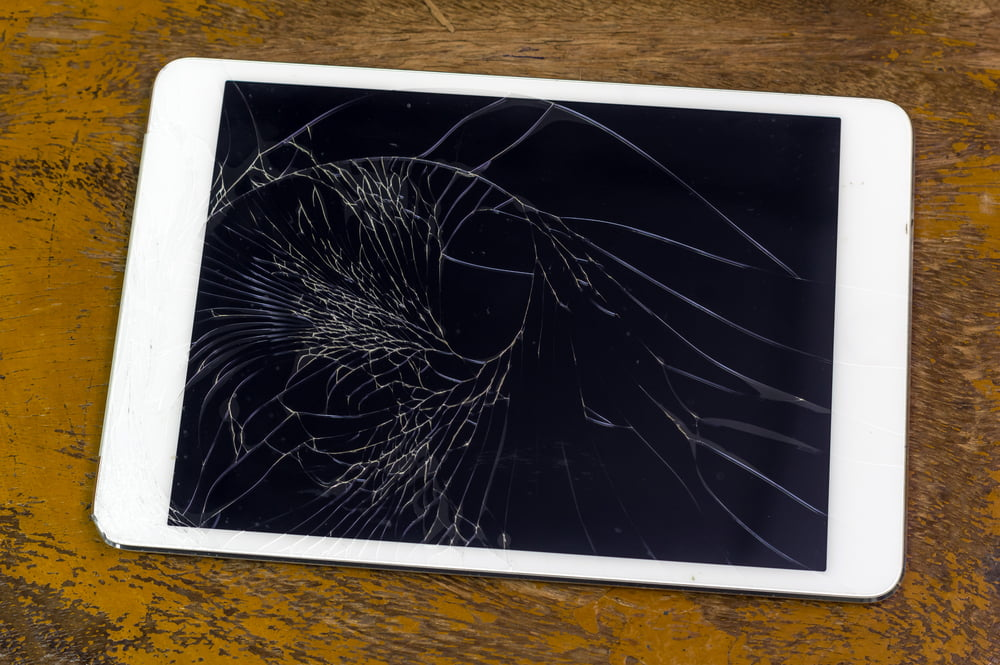 When your tablet gets damaged, is it more cost effective to repair or replace?